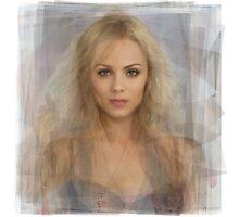 Laura Vandervoort Portrait Photographic Print