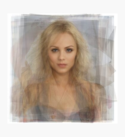 Laura Vandervoort Portrait Photographic Print
