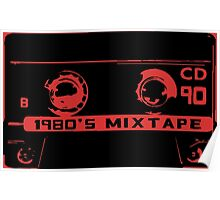 1980's mixtape Poster