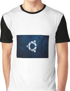 Ubuntu Blue Graphic T-Shirt