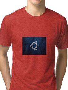 Ubuntu Blue Tri-blend T-Shirt