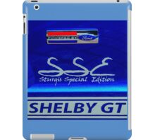 Shelby GT Sturgis Special Edition iPad Case/Skin