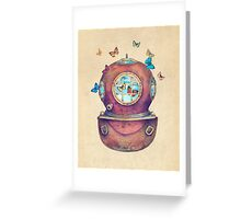 Inner Space Greeting Card