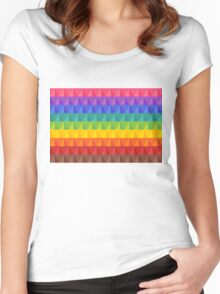Wallpaper 6 Women's Fitted Scoop T-Shirt
