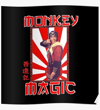 Monkey Magic (for dark back) Poster