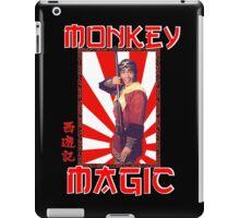 Monkey Magic (for dark back) iPad Case/Skin