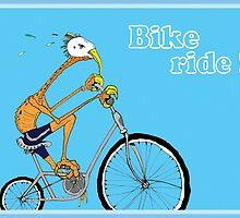Bike Ride! by maxkraken