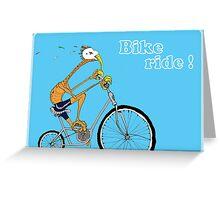 Bike Ride! Greeting Card