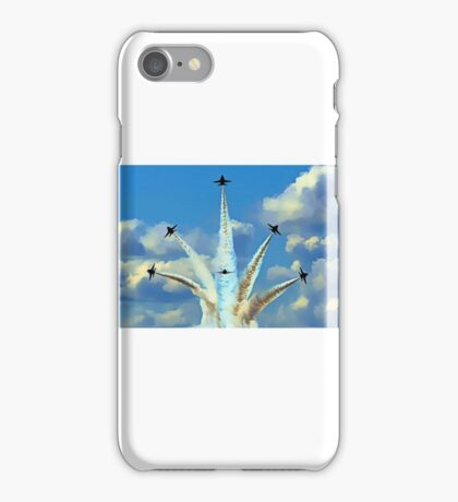 Aerial Acrobatics by the Blue Angels iPhone Case/Skin