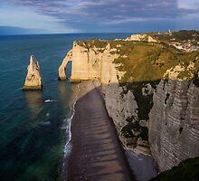 Steep Cliff - Travel Photography by JuliaRokicka