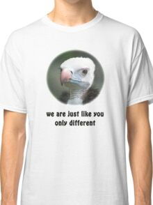 White-headed Vulture for Equal Rights Classic T-Shirt