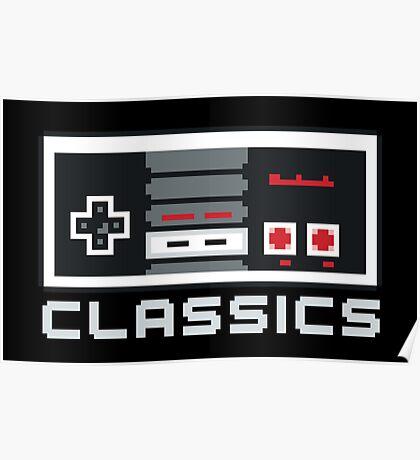 8-bit Classics Poster
