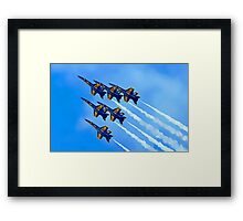 Into The Wild Blue Yonder Framed Print