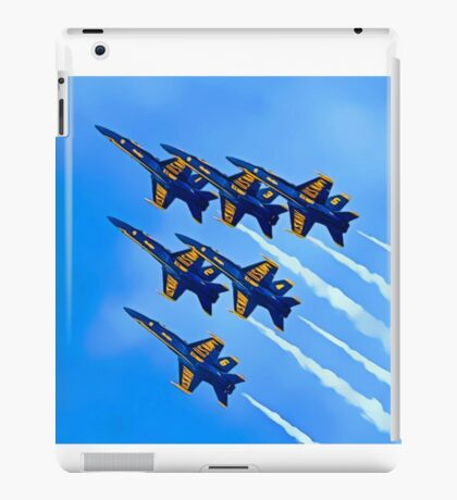 Into The Wild Blue Yonder iPad Case/Skin