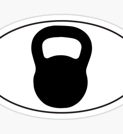 Kettlebell Sticker