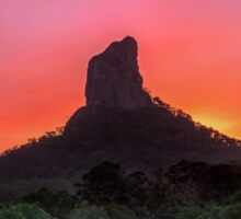 The Road to Mt Coonowrin - Glasshouse Mountains Qld Australia Sticker
