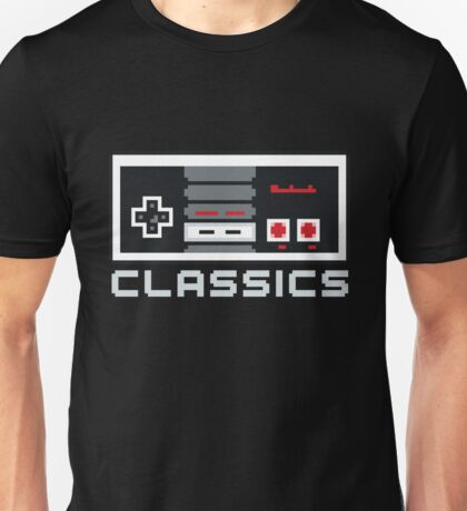 8-bit Classics Unisex T-Shirt