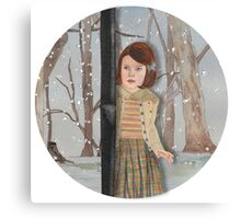 Lucy and the Lantern (Narnia) Canvas Print