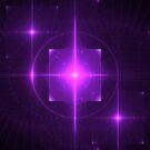 Purple Chakra Charging | Fractal Art by SirDouglasFresh