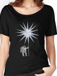 Old Man Winter Hermit and North Star Women's Relaxed Fit T-Shirt