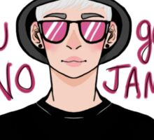 "RAPMONSTER ""NO JAMS"" Sticker"