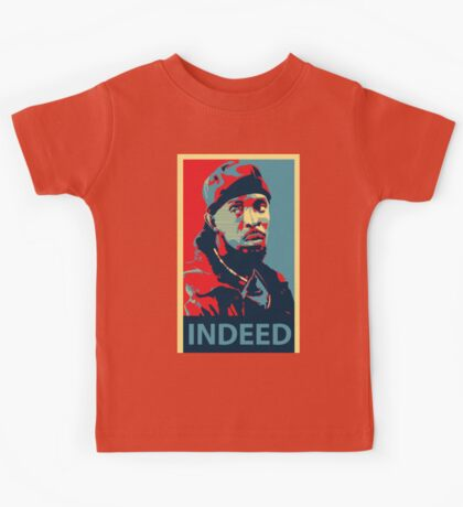 Omar The Wire Indeed Kids Tee