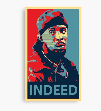 Omar The Wire Indeed Canvas Print