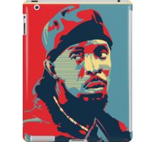 Omar The Wire Indeed iPad Case/Skin