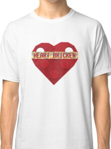 Valentines Day Toy Brick Heart Valentines Charm For Boys Red Classic T-Shirt