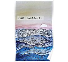 Find Yourself. Poster