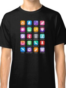 Potter Spell Icons Classic T-Shirt