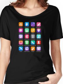 Potter Spell Icons Women's Relaxed Fit T-Shirt