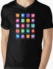 Potter Spell Icons Mens V-Neck T-Shirt