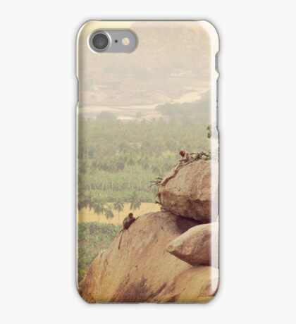 Hampi Monkeys iPhone Case/Skin