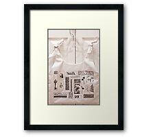 Sandra's Designer Bag Framed Print
