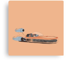 X-34 Landspeeder Canvas Print