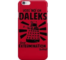 Doctor Who & Daleks iPhone Case/Skin