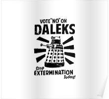 Doctor Who & Daleks Poster