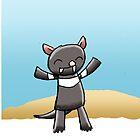 Cute Tasmanian Devil by eddcross