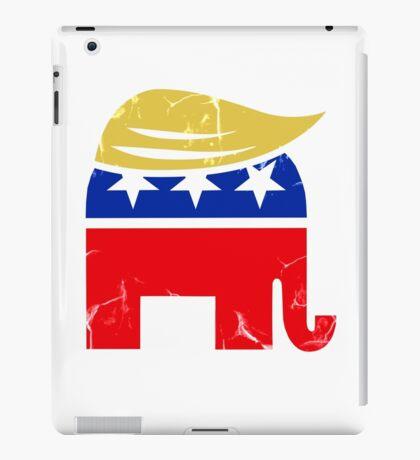 Donald Trump Republican Elephant iPad Case/Skin
