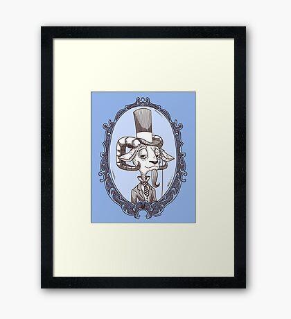 lordy goat Framed Print