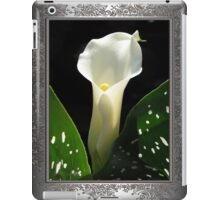 Zantedeschia named Little Jimmy iPad Case/Skin