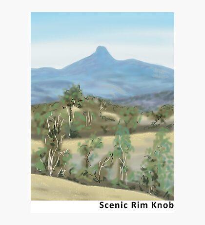 Scenic Rim Knob Photographic Print