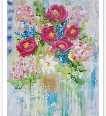 Beauty Wildflowers Sticker