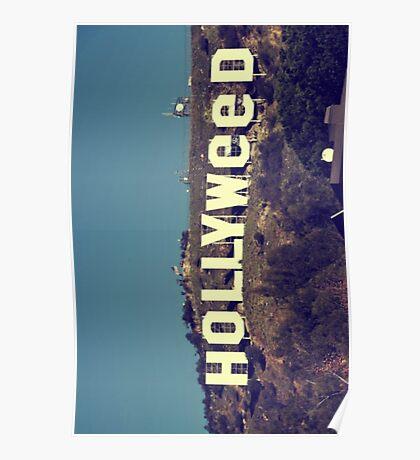 Hollyweed - vintage Poster