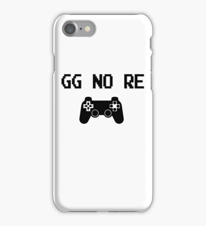 """Video Game """"GG no Re"""" with controller iPhone Case/Skin"""