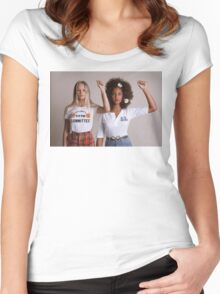 We Stand Together Women's Fitted Scoop T-Shirt