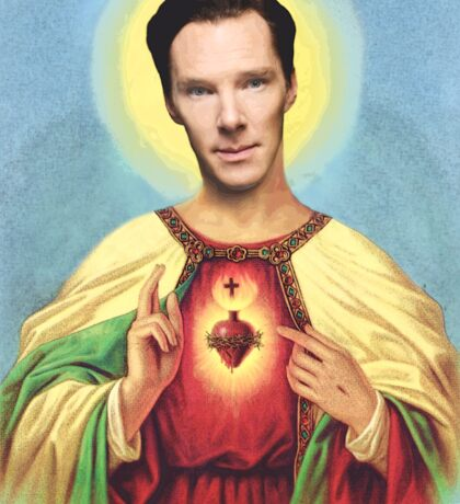 Holy Benedict Sticker