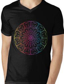 Carpe Diem Optimist  and Inspiring T-shirt Mens V-Neck T-Shirt
