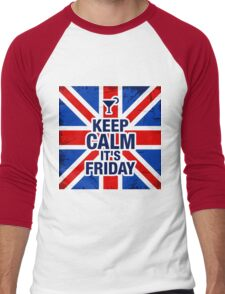 Keep Calm It's Friday Men's Baseball ¾ T-Shirt